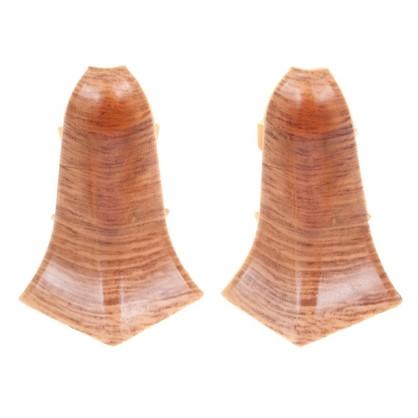Купить Угол для плинтуса внутренний Осина Европейская 55 мм 2 шт. дешевле