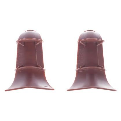 Купить Угол для плинтуса внутренний Венге 55 мм 2 шт. дешевле