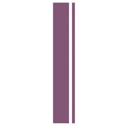 Угол для шкафа Delinia Слива 4х70 см МДФ/пленка ПВХ цвет слива