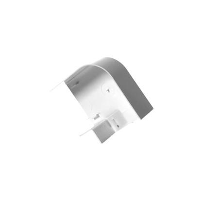 Угол для труб плоский Экопласт Tecn 100х55 мм