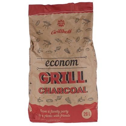 Купить Уголь древесный Эконом 26 л (5 кг) для гриля дешевле