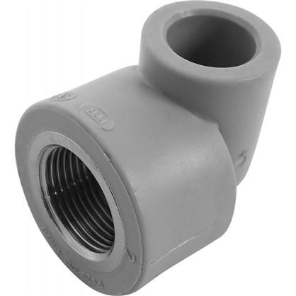 Угол комбинированный FV-Plast внутренняя резьба 20х3/4 мм полипропилен