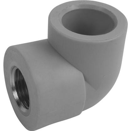 Угол комбинированный FV-Plast внутренняя резьба 25х1/2 мм полипропилен