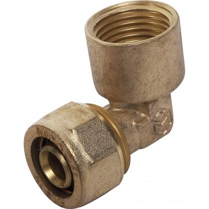 Угол обжимной Minkor внутренняя резьба 16х1/2 мм латунь