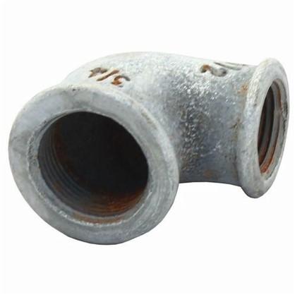 Угол оцинкованный внутренняя резьба 1 мм чугун