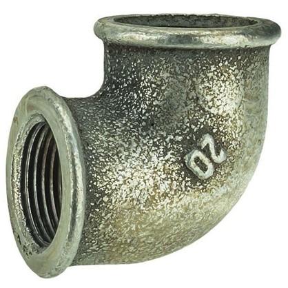 Угол оцинкованный внутренняя резьба 3/4 мм чугун