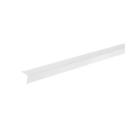 Купить Угол периметральный стальной 19х19x3000 мм цвет белый дешевле