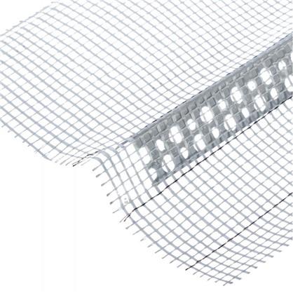 Купить Угол ПВХ с сеткой 80х120x2500 мм дешевле