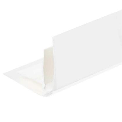 Угол ПВХ внутренний для панелей 5 мм 3000 мм цвет белый