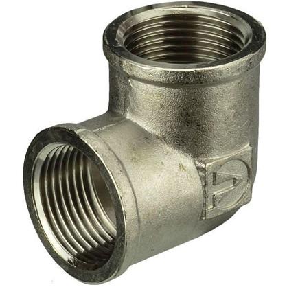 Купить Угол Valtec внутренняя-внутренняя резьба 1 мм никелированная латунь дешевле