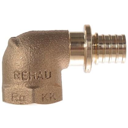 Угольник Rehau RX 16х1/2 внутренняя резьба бронза