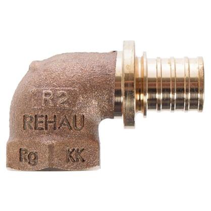 Купить Угольник Rehau RX 20х1/2 внутренняя резьба бронза дешевле