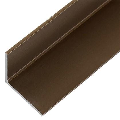 Уголок 20x20x1.5x1000 мм цвет бронза