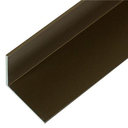 Уголок 25x25x2x1000 мм цвет бронза