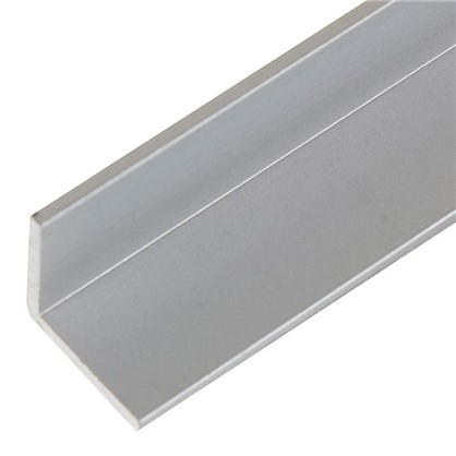 Уголок алюминиевый 10х10х12 мм 2 м цвет серебро
