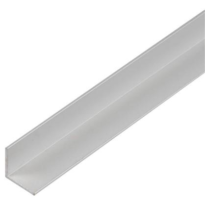 Уголок алюминиевый 15х15х1.2 мм 1 м цвет серебро