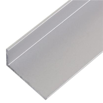 Уголок алюминиевый 20х10х12 см 2 м цвет серебро