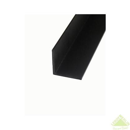 Купить Уголок алюминиевый 20х20х1 1 м черный муар дешевле
