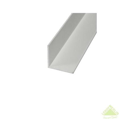 Уголок алюминиевый 20х20х1 2 м белый муар