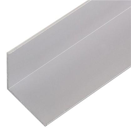 Уголок алюминиевый 20х20х1 см 2 м цвет серебро