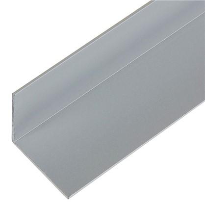 Уголок алюминиевый 25х25х12 см 1 м цвет серебро