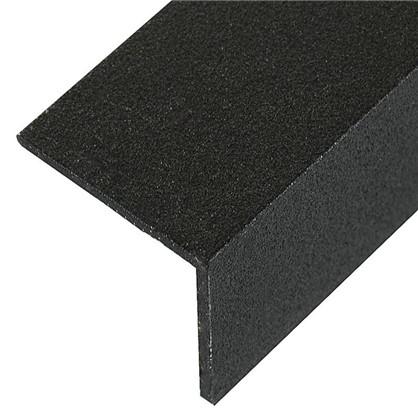 Уголок алюминиевый 30х30х1.5 2 м черный муар