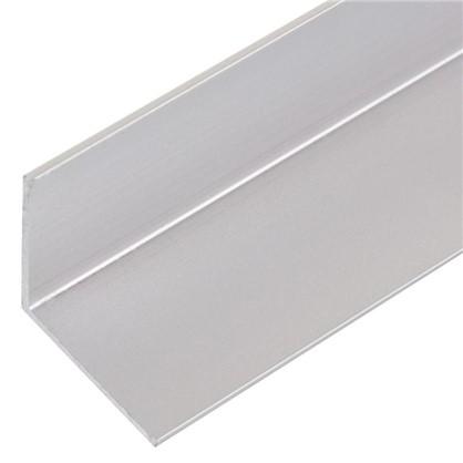 Уголок алюминиевый 30х30х15 см 1 м цвет серебро