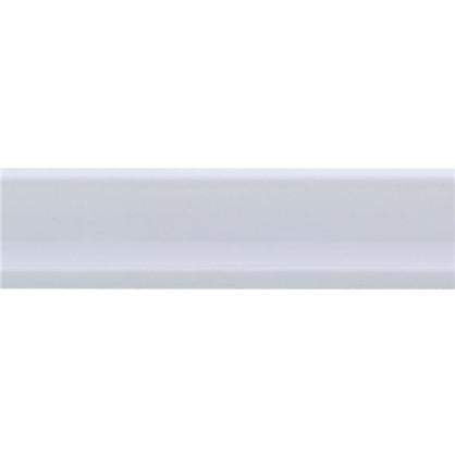 Уголок керамический прямой 250х35 мм цвет белый