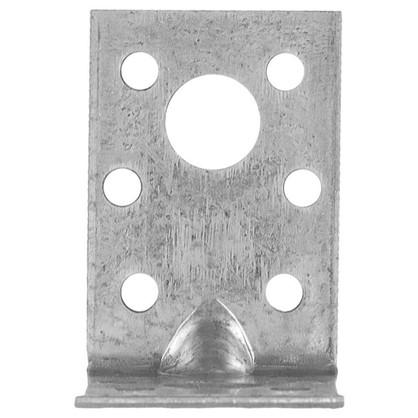 Уголок крепежный усиленный 50x50x35x2 мм