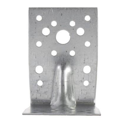 Уголок крепежный усиленный 90x90x65x1.8 мм