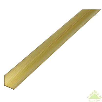 Уголок латунный 15x15x1.5x1000 мм
