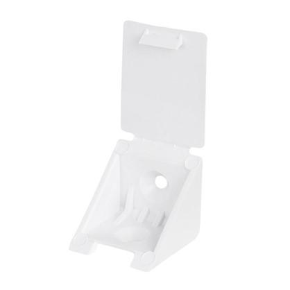 Уголок монтажный 25 мм пластик цвет белый 8 шт.