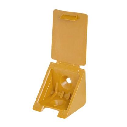 Купить Уголок монтажный 25 мм пластик цвет вишня 8 шт. дешевле