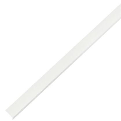 Уголок ПВХ 15x15x1.2x1000 мм цвет белый