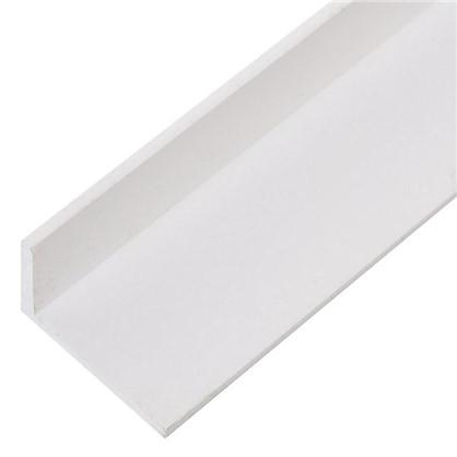 Уголок ПВХ 30x20x3x2000 мм цвет белый