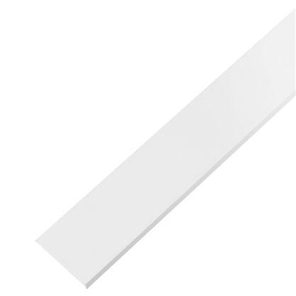 Уголок ПВХ 40x10x2x1000 мм цвет белый