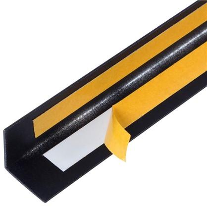 Уголок QuickStick 20x20x1x2000 мм алюминий цвет черный