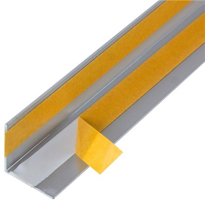 Уголок QuickStick 20x20x1x2000 мм алюминий цвет серебро