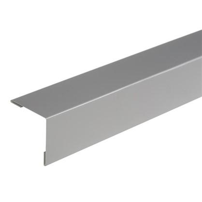 Купить Уголок внешний серый дешевле