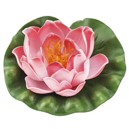 Купить Украшение Лилия 100 мм цвет белый/жёлтый/розовый дешевле