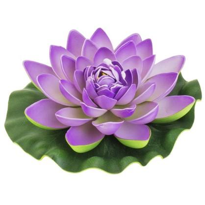 Купить Украшение Лилия 180 мм цвет белый/жёлтый/розовый дешевле