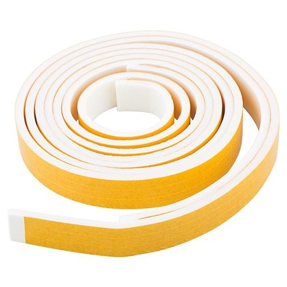 Купить Уплотнитель изолоновый 9 м цвет белый дешевле