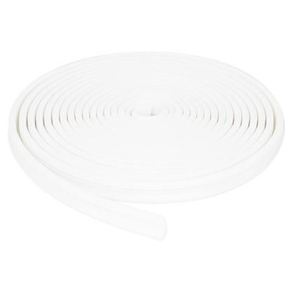Купить Уплотнитель оконный 5.5 м цвет белый дешевле