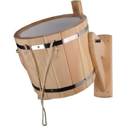 Устройство обливное для бани 16 л кедр
