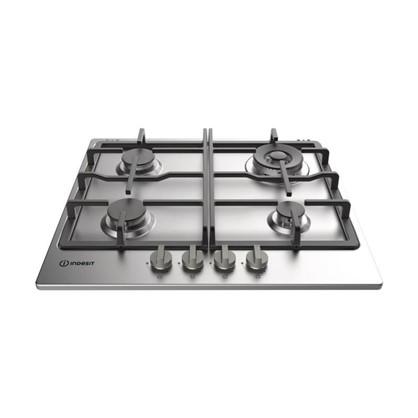Варочная панель газовая Indesit THP 641 W/IX/I цвет нержавеющая сталь