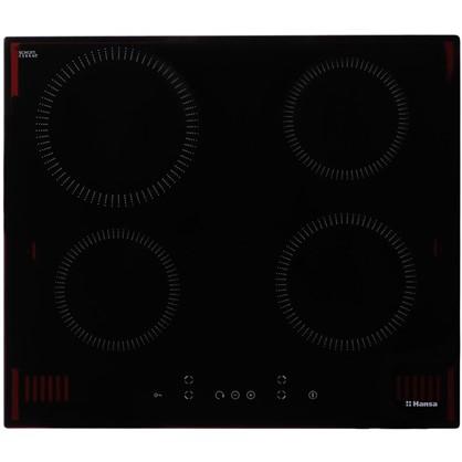 Варочная панель индукционная Hansa BHI68320 59х52 см 4 конфорки 7000 Вт цвет черный