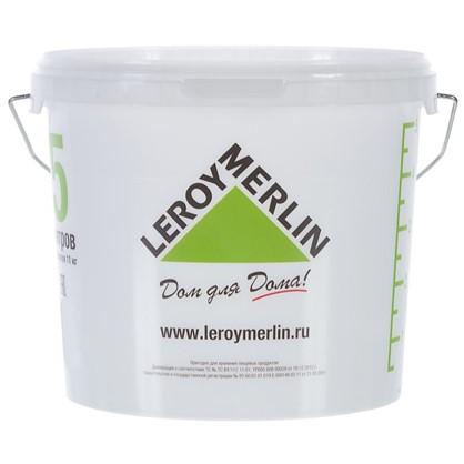 Купить Ведро 5л пищевой пластик дешевле