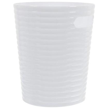 Купить Ведро 6.6 л цвет белый дешевле