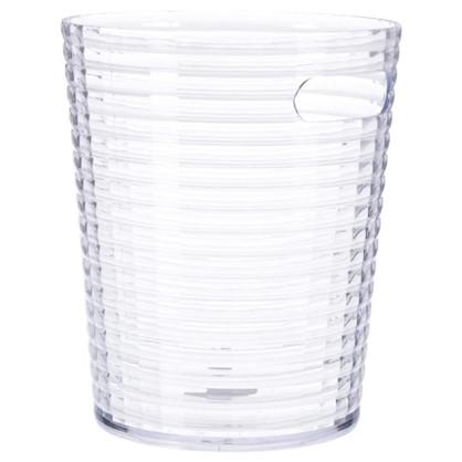 Ведро 6.6 л цвет прозрачный