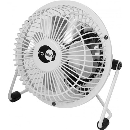 Вентилятор настольный 10 см 15W бел